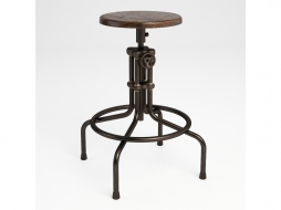 табурет ISAAC COUNTER HIGH STOOL 445.002C