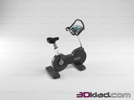 3d модель Bike Visio Technogym