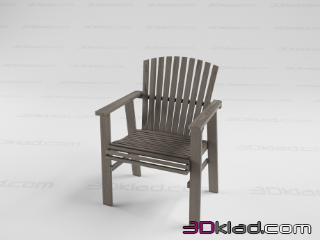 3d model IKEA SUNDERO Chair Ikea