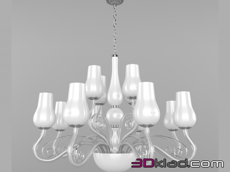 3d model chandelier MW-LIGHT 483010112 MW Light
