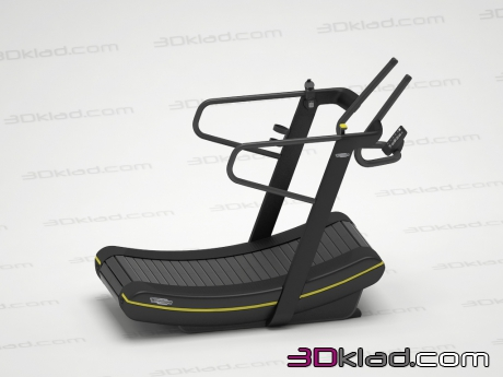 3d модель Skillmill Connect Technogym