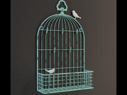 фоторамка METAL BIRDCAGE CARD 1/0248