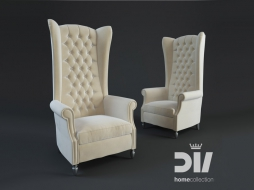 AVERY bergere Armchair trono