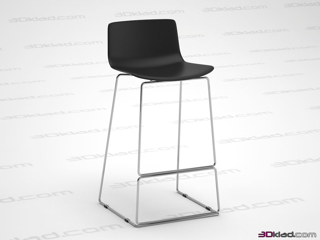 3d Model Bar Stool Neo Cosmorelax