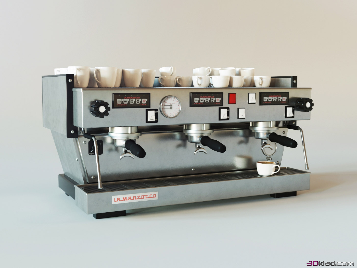 Coffee Machine Linea Classic 3d Model Appliances For The Kitchen