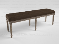 FRENCH LOUIS BENCH 7801-0008 A0008