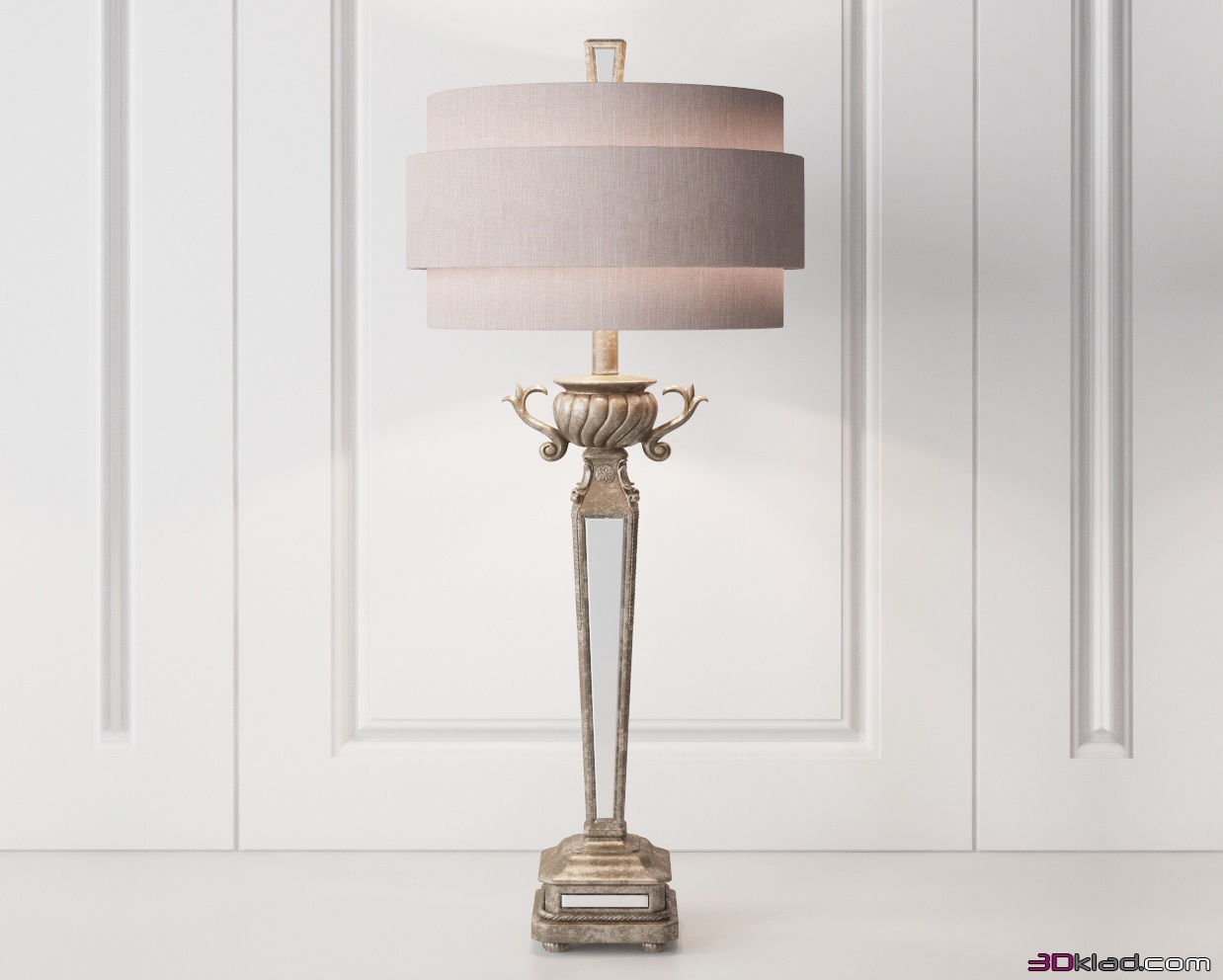 Horchow horchow mirrored table lamp 3d model horchow mirrored table lamp horchow mozeypictures Gallery