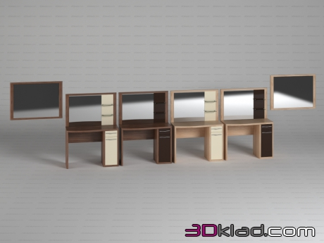 3d model Asti dresser tables Дятьково