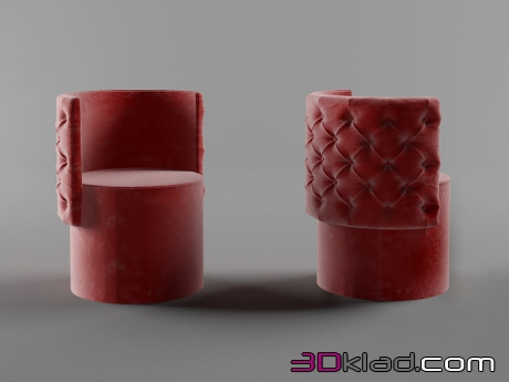 3d модель кресло Avery Dv home collection