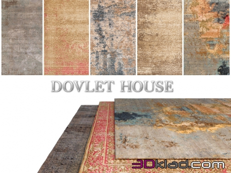 3d модель Ковры DOVLET HOUSE 5 штук (part 186) Dovlet house