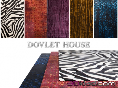3d model Carpets (part 29) Dovlet house