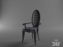 chair with armrests Form armchair