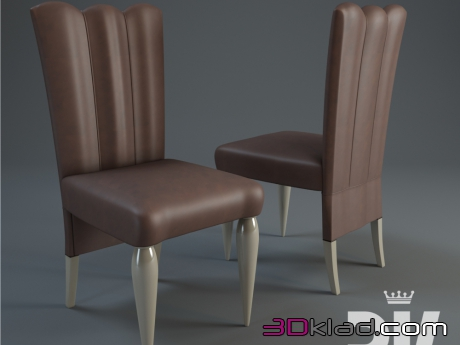 3d модель стул KENT Dv home collection