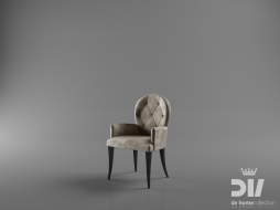chair with armrests NOBILITY