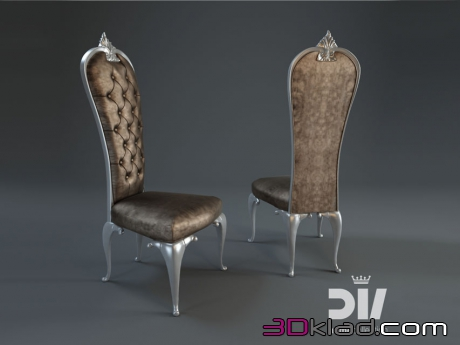 3d модель стул PRINCE Dv home collection