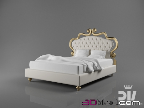 3d модель кровать seduction 1780x2150 Dv home collection