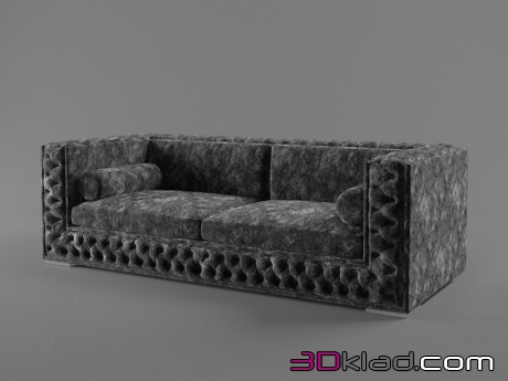 3d модель диван VELVET A Dv home collection