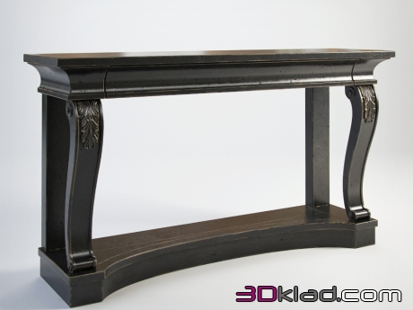 3d модель FORSYTH CONSOLE TABLE 0401022 Gramercy home