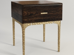 BAILY BEDSIDE TABLE 701.004-SE