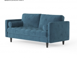 Scott three seat sofa