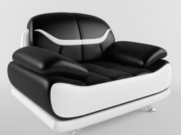 Chair (Bentley Modern Black and White)