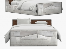 bed with storage compartment Aviator 106486 DRLE TWIN