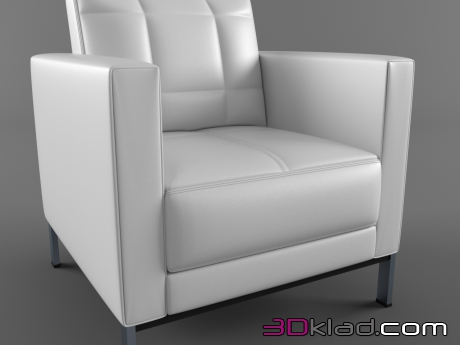 3d модель ICF_Armchair_Cross ICF